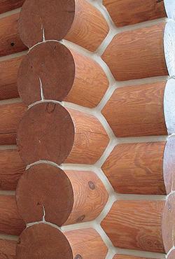 Акриловый герметик для деревянного дома «Теплый шов»