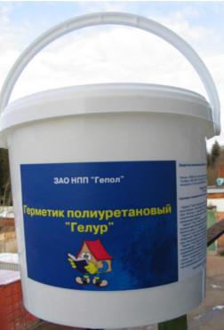 Герметик полиуретановый Гелур